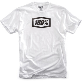 100% Essential T-Shirt Herrer, white